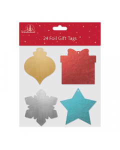 Tallon 24 Foil Shaped Tags