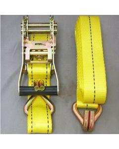 Streetwize Ratchet Tie-down Strap - 35mm X 5m