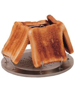 4-Slice Folding Toaster - Suits Camping Stove