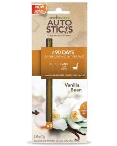 Auto Sticks Air Freshener - Vanilla Bean