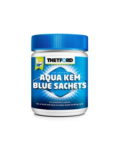 15 X Thetford Aqua Kem Toilet Waste Tank Sachets