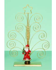 Santa Swirl Card Holder