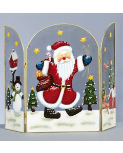 Fireguard With Santa Design - 63cm