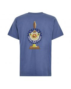 Weird Fish Royal Ale Force Artist T-Shirt - Blue Indigo