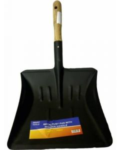Metal Shovel/Dust Pan with Wooden Handle