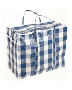 Large Shopper Bag - Check Pattern