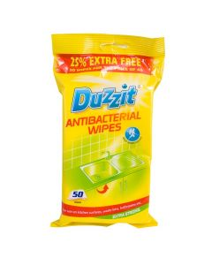 Anti Bacterial Wipes - Pack Of 50