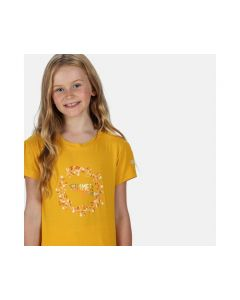 Regatta Bosley III Kid's Printed T-Shirt - California Yellow Summer Print