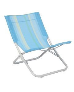 Royal Folding Beach & Camping Chair - Light Blue