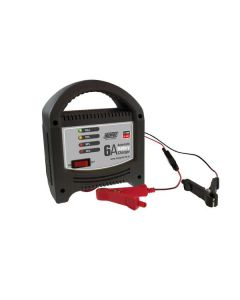 Maypole 6A 12V LED Automatic Battery Charger