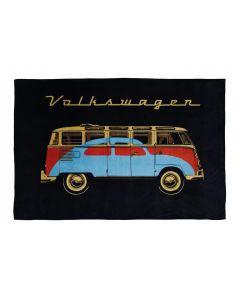 Volkswagen T1 Microbus Fleece Blanket
