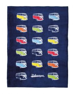 Officially licenced VW Microbus Fleece Travel Blanket
