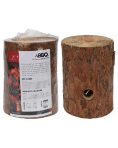 BBQ Log Candle
