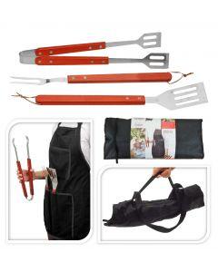 Barbecue Apron & Utensil Set