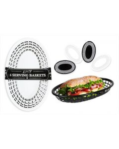 BBQ Burger Serving Baskets (4pc)