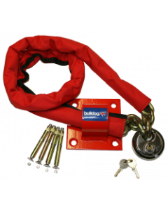 Bulldog MC30 High Security Chain, Padlock and Ground Anchor