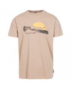 Trespass Bredonton Men's Printed T-Shirt - Wheat