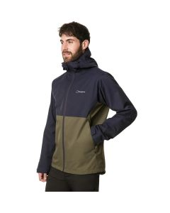 Berghaus Fellmaster Waterproof Men's Jacket Ivy Green / Dusk BLue