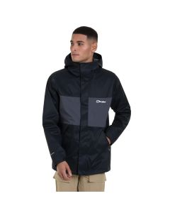 Berghaus Men's Glennon Waterproof Jacket - Black/Grey