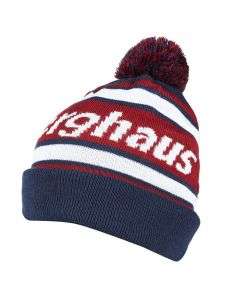 Berghaus Berg Mens Beanine Hat Dark Blue Red
