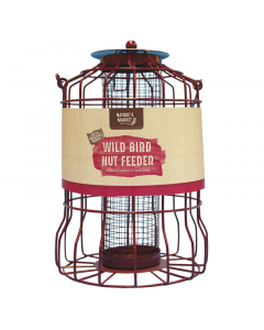 Nature's Market Wild Bird Nut Feeder With Squirrel Guard