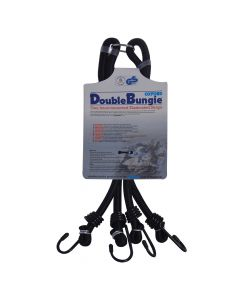 "Oxford Double Bungie Luggage Securing Strap System 24"" / 600mm"