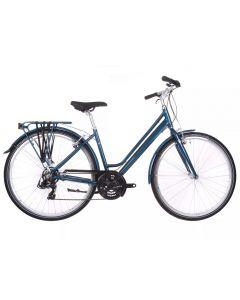 Raleigh Pioneer 1 Step-Through Ladies Hybrid Bike - Teal