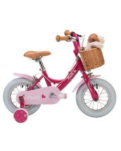 "Raleigh Molli 12"" Wheel Girls Bike - Pink"