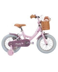 "Raleigh Molli 14"" Girls Bike in Baby Pink"
