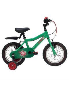"Raleigh Atom 14"" Wheel Boys Bike - Green"