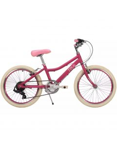 "Raleigh Chic Alloy Girls Mountain Bike - 20"" Wheel Pink"