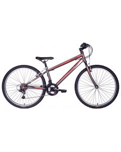 "Tiger Hazard 26"" Mountain Bike - Gunmetal Grey"