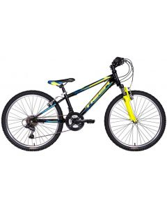 "Tiger Warrior 24"" Boys Front Suspension MTB"
