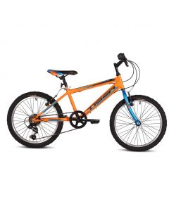 "Tiger Warrior 20"" Wheel Boys Mountain Bike - Orange"
