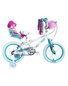 "Tiger Daisy Girls Bike - 14"" Wheel"