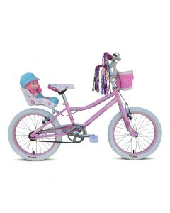 "Tiger Lottie 18"" Wheel Girls Bike - Pink"