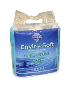 Toilet Tissue - 4 Roll Pack
