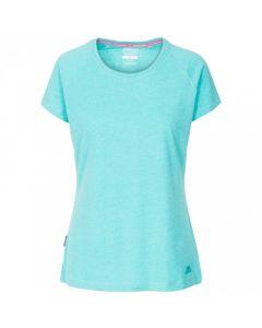 Trespass Benita Women's Casual T-Shirt - Lagoon Marl