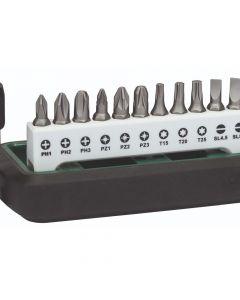 Bosch Screwdriver & Torx Bit Set and Holder