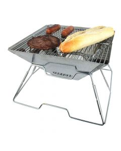 Yellowstone Pac-Flat Portable Charcoal Barbecue