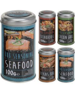 Barbecue Seasoning Mix (1 x Tin - Assorted Flavours)