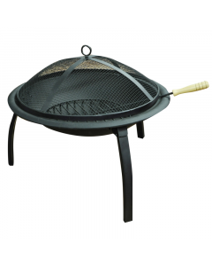 Kingfisher BBQ Time Barbecue Fire Pit