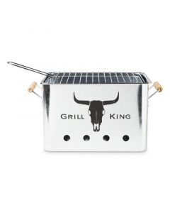 Grill King Portable Charcoal BBQ