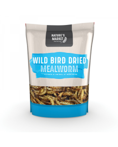 Nature's Market Mealworms Wild Bird Feed - 1kg