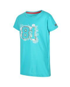 Regatta Kids' Bosley II 81 Graphic Print T-Shirt - Ceramic