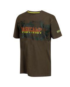 Regatta Kids' Bosley II Basecamp Graphic Print T-Shirt - Grape Leaf