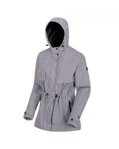 Regatta Women's Bronya Waterproof Shell Jacket - Black White