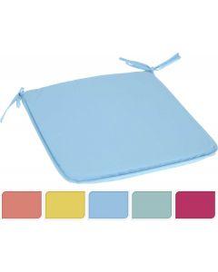 Padded Chair Cushion - Assorted Colours