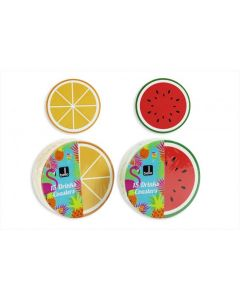 Bello Fruit Drink Coasters Assorted Designs (15pc)