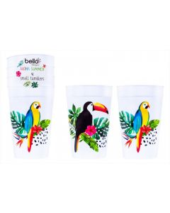 Aloha Design Party Cups - Pack of 4